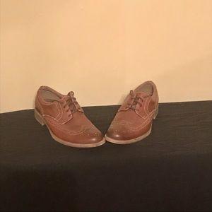 Dockers Brown Wingtip Dress Shoes